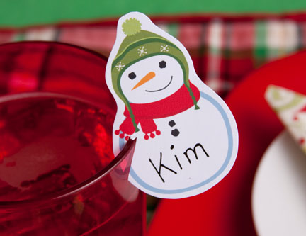 Holiday decorating ideas goodies deal wise mommy - Marque place de noel a imprimer gratuitement ...