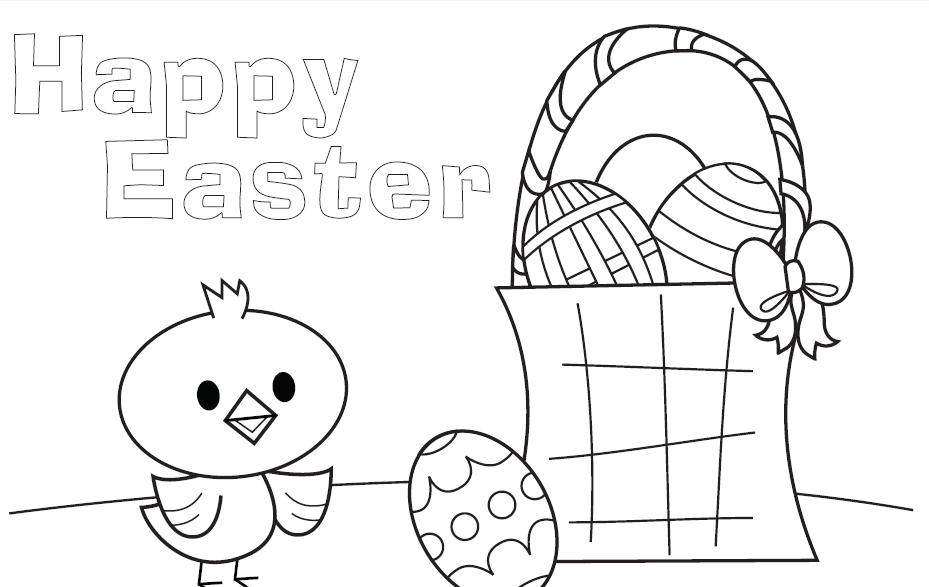 several free easter printables deal wise mommy coupons - Things To Colour In