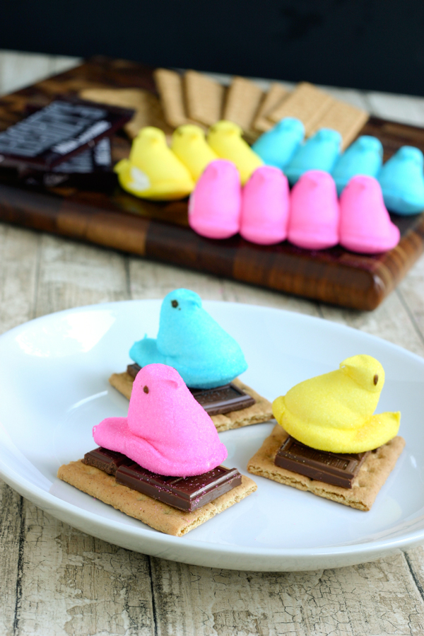 Peeps S'mores For Easter Recipe — Dishmaps