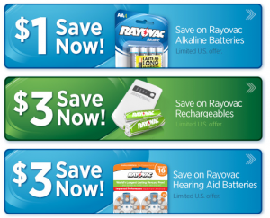 image about Duracell Hearing Aid Batteries 312 Coupons Printable named Rayovac batteries coupon 2018 : Fb bargains lead