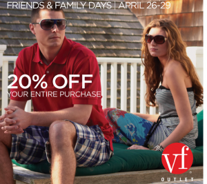 Vf factory coupon