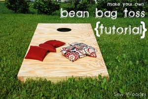 Make Your Own Bean Bag Toss Deal Wise Mommy Coupons