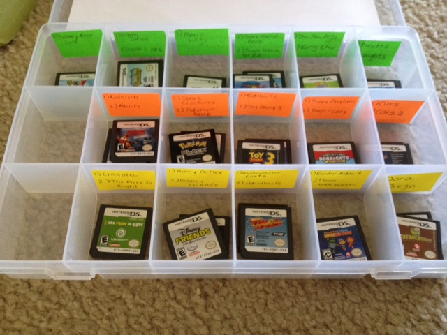 Easy nintendo ds game storage solution deal wise mommy for Game storage ideas
