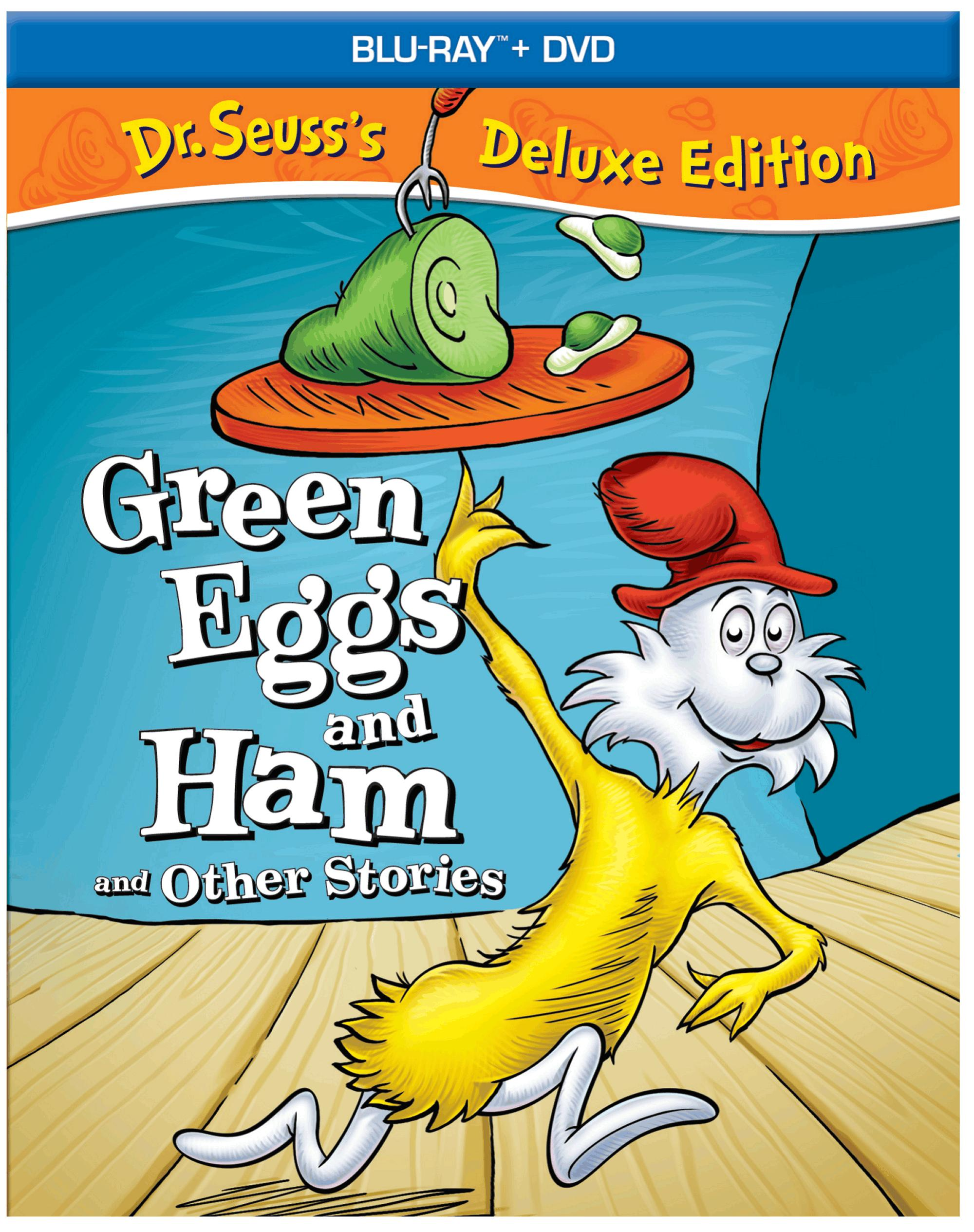 Dr. Seuss Green Eggs and Ham Other Stories Deluxe Edition 2D Box Art ...