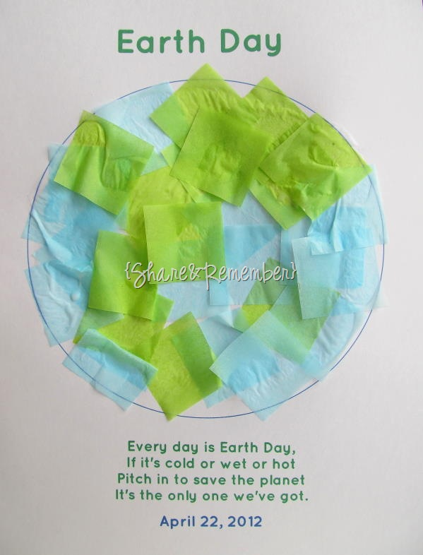 Earth Day Tissue Paper