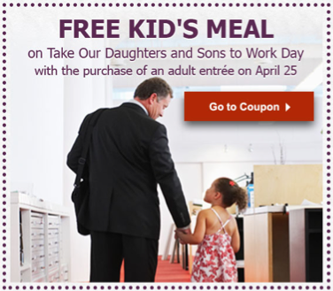 Olive Garden Today Kids Eat Free With Purchase Of Adult