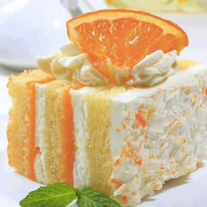 Orange Dreamcicle Cake