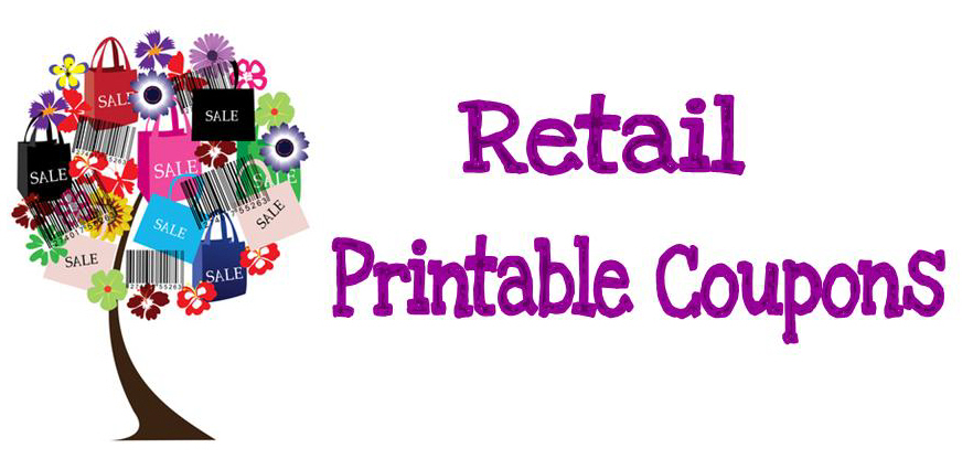 Retail Printable Coupons new