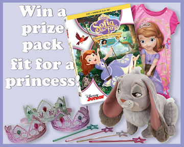 Sofia the 1st prize pack