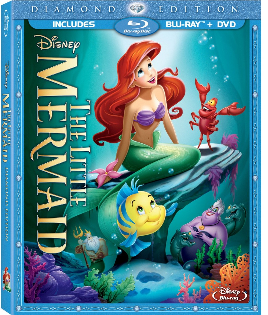 Little Mermaid DE Combo Pack Box Art