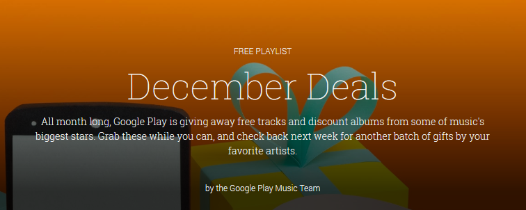 Google Dec deals